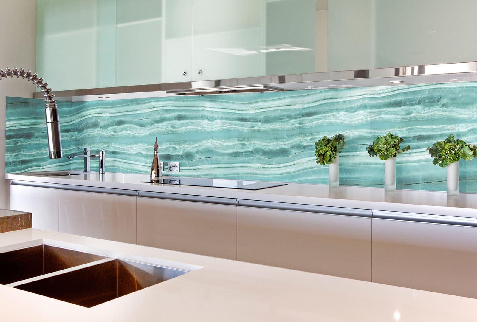 стальные стеклянный кухонный фартук фото дети