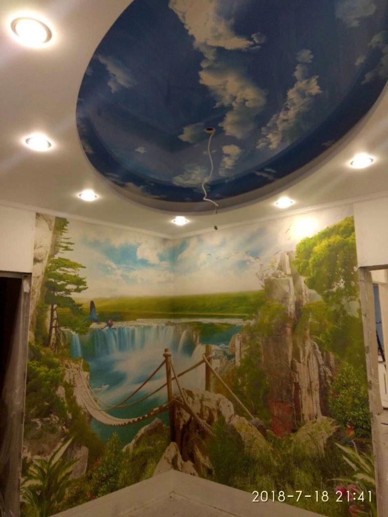 Фреска на стену 2018-7