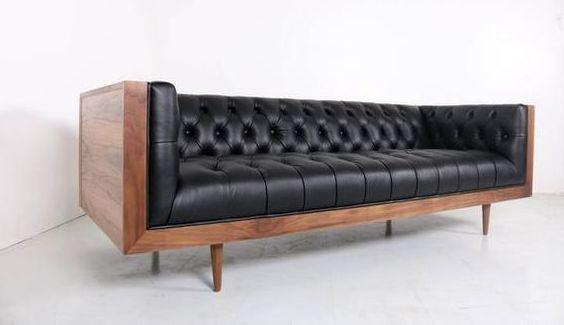 Кожаный диван Solo