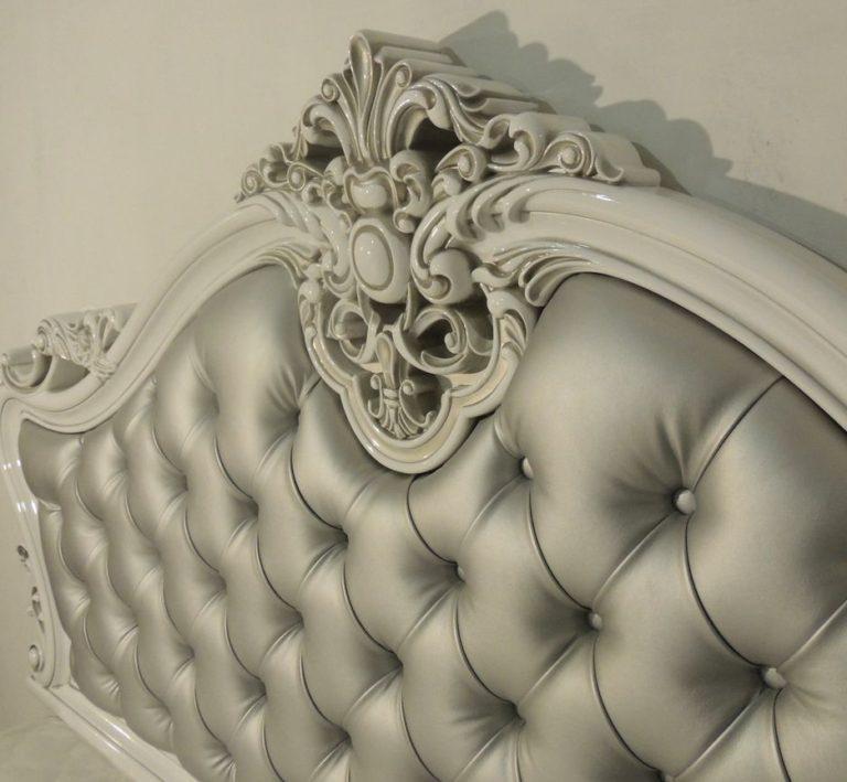 Кровать с каретной стяжкой 50
