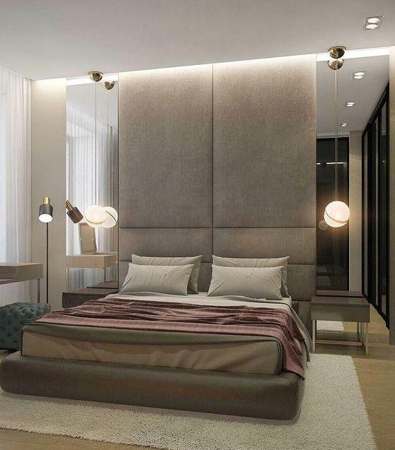 Кровать с мягкими панелями проект ДП-36