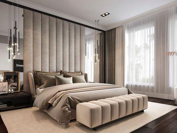 Дизайн интерьера спальни проект ДП-16