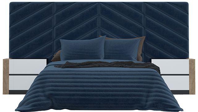 Кровать с мягкими панелями Sorento