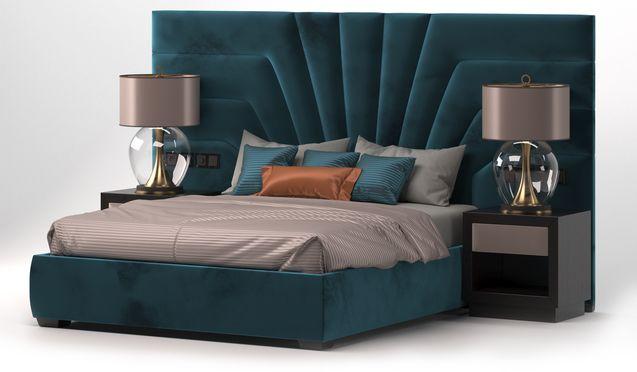Кровать с мягкими панелями FORTUNE