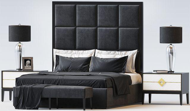 Кровать с мягкими панелями Miranda