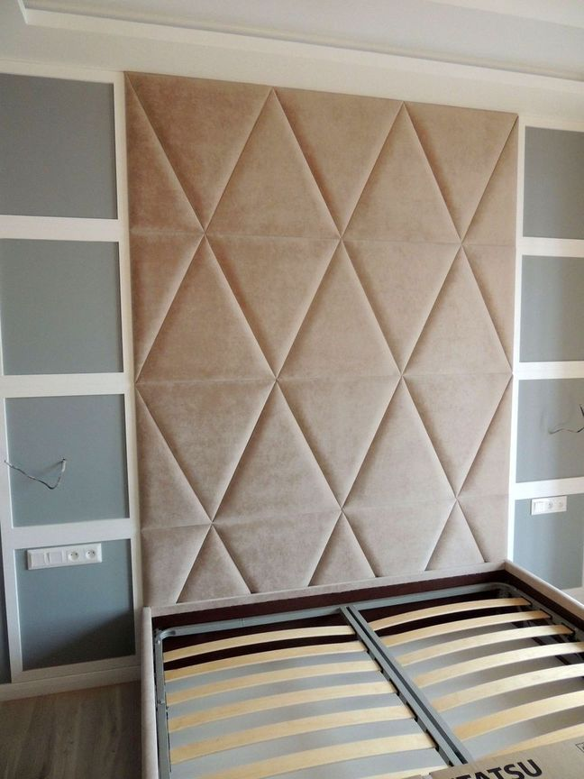 Мягкие панели для стен 014
