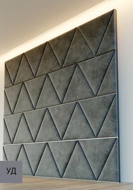 Мягкие панели для стен Gray W007