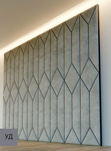 Мягкие панели для стен Gray W017