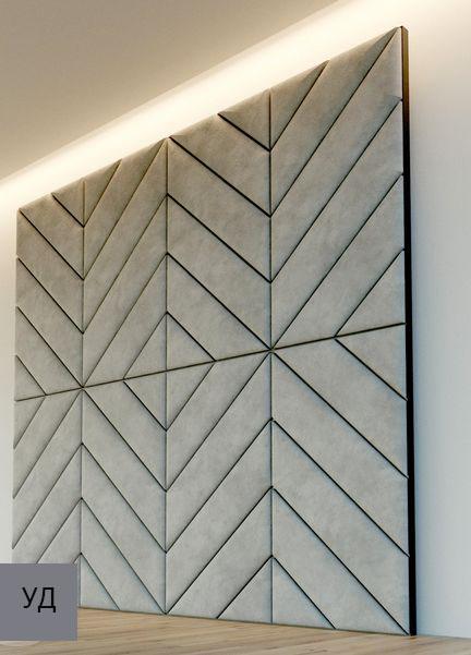 Мягкие панели для стен Gray W006