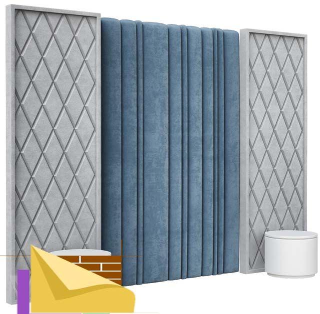 Мягкие стеновые панели Lotus