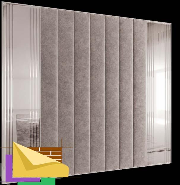 Мягкие панели для стен Linda