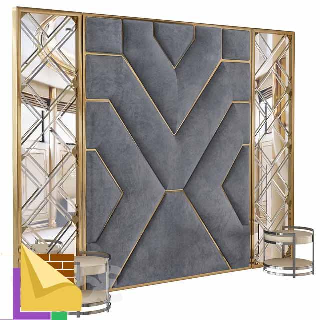 Мягкие панели для стен Baxter