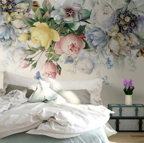 Фотообои в спальню фото 011