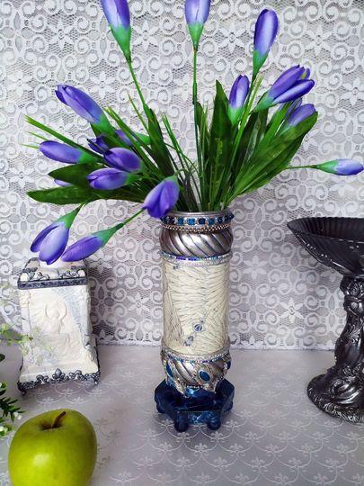 Декоративная ваза фото 011