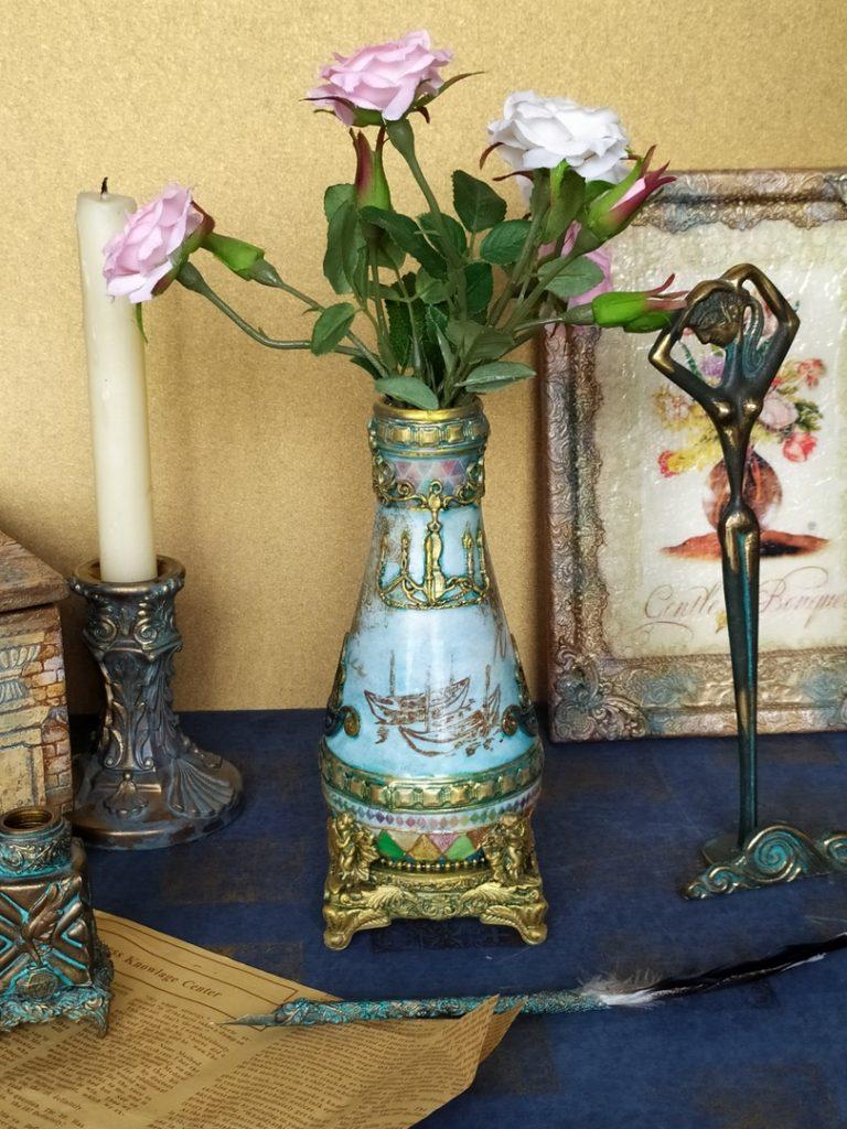 Декоративная ваза фото 012