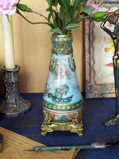 Декоративная ваза фото 013