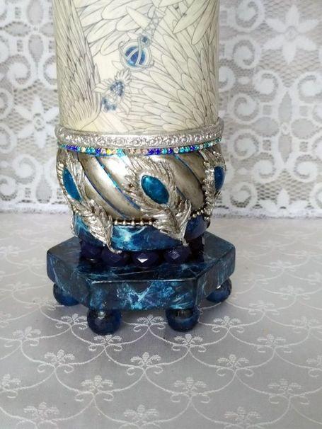 Декоративная ваза фото 016