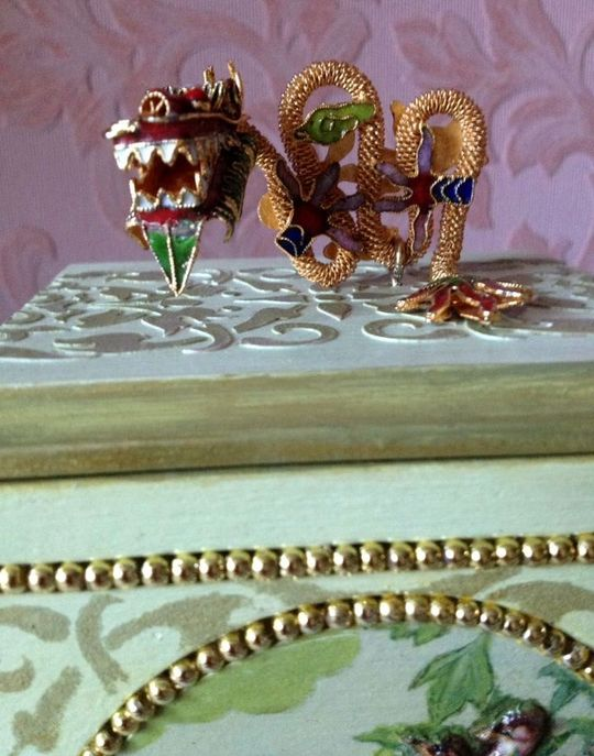 Шкатулка для украшений фото 067