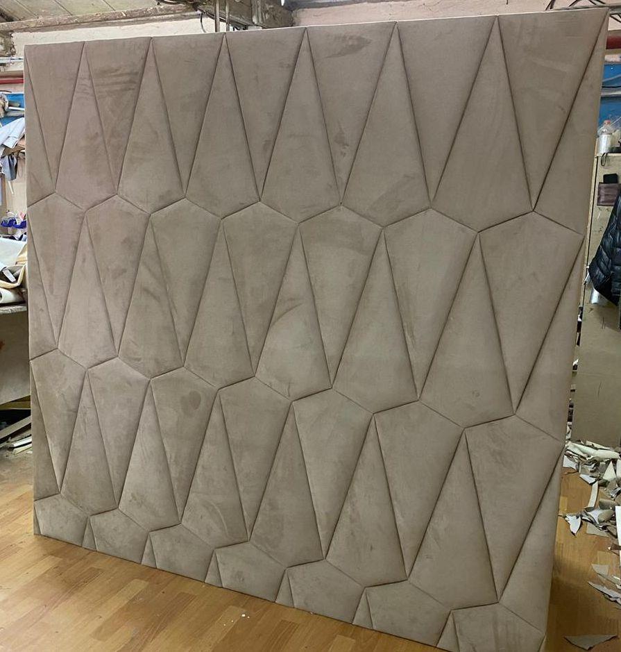 Мягкие стеновые панели Дафни фото вид А