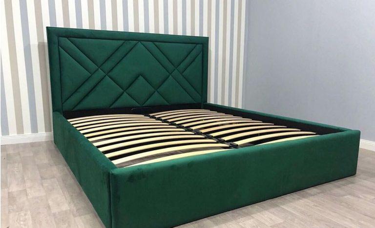 Кровать с большим мягким изголовьем фото 163