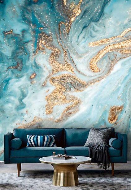 Стеновые панели МДФ под мрамор фото 609
