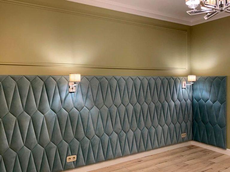 Мягкие стеновые панели фото 441