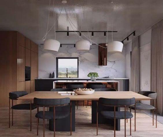 Панель для кухни под мрамор фото 908