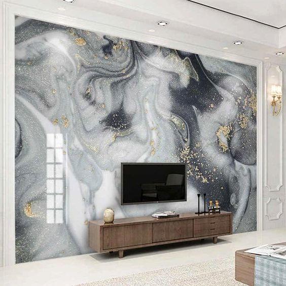 Стеновая панель под мрамор фото 521