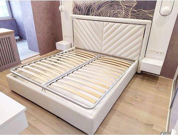 Кровать с мягким изголовьем фото 325