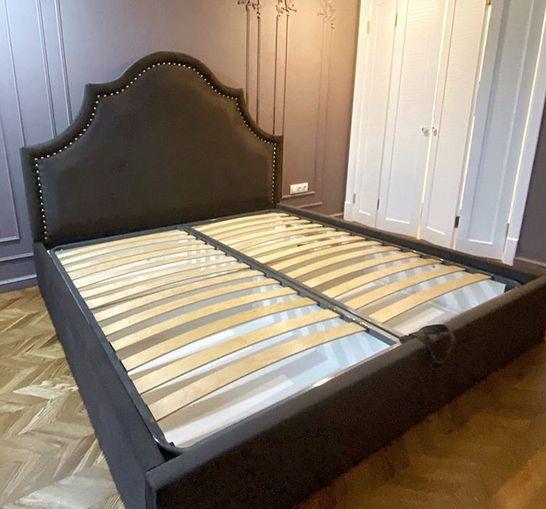 Кровать с мягким изголовьем фото 326