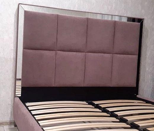 Кровать с мягким изголовьем фото 333