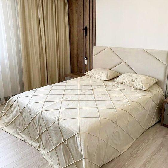 Кровать с мягким изголовьем фото 338