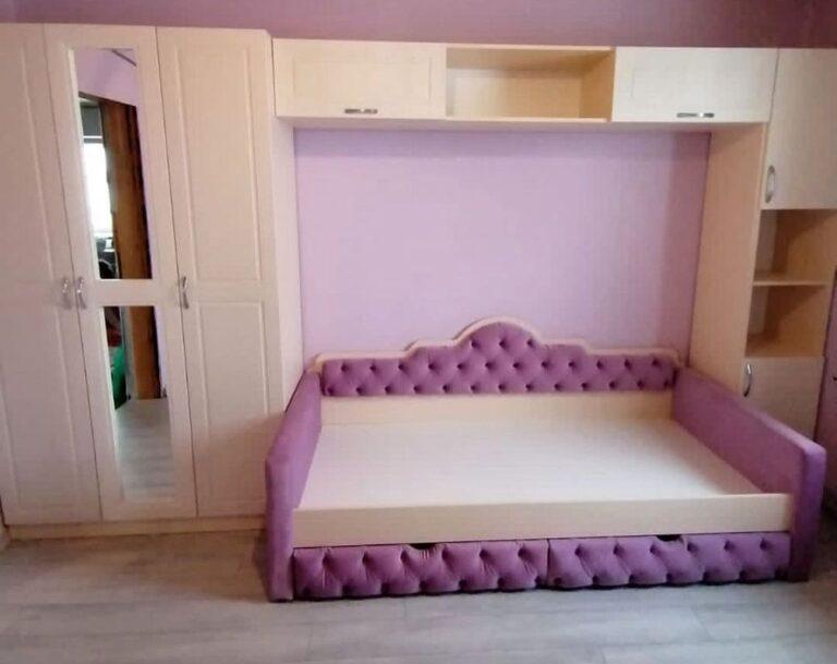 Кровать для девочки фото 101
