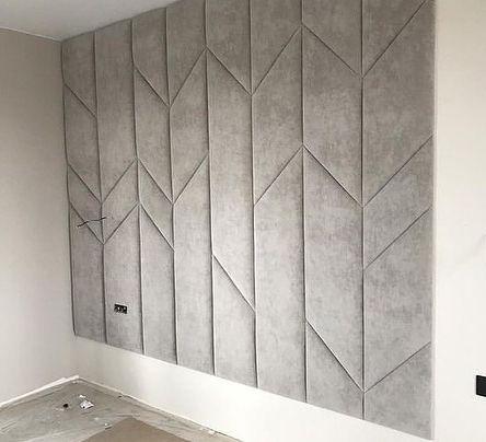 Мягкая стеновая панель фото 166