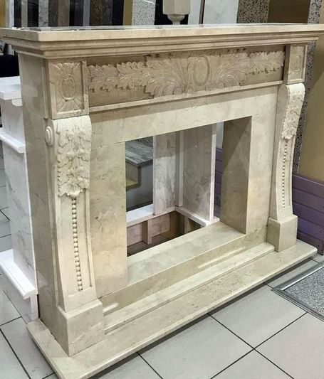 Камин мраморный проект 112