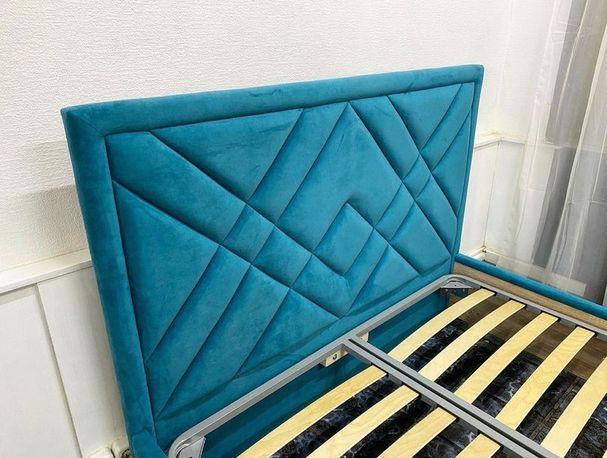 Кровать с мягким изголовьем фото 123