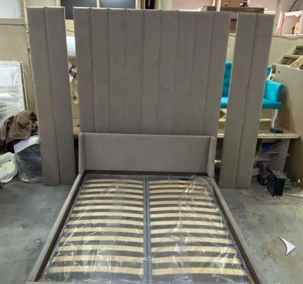 Мягкая панель на стену фото 332