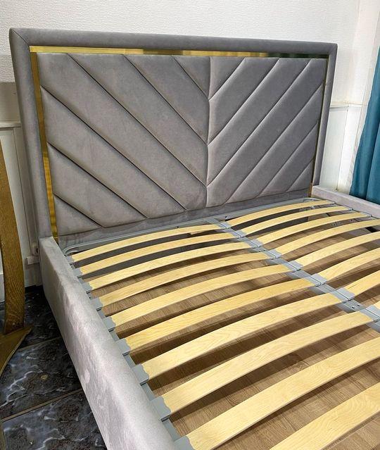 Кровать с мягким изголовьем фото 22