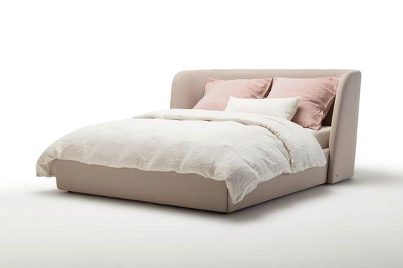Кровать с мягким изголовьем фото 355