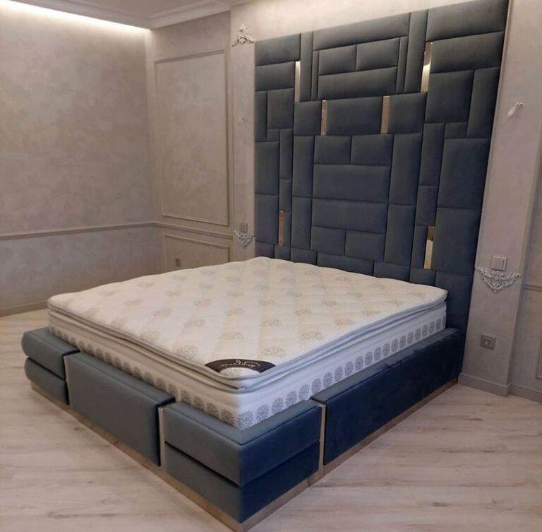 Мягкая панель в спальню фото 391