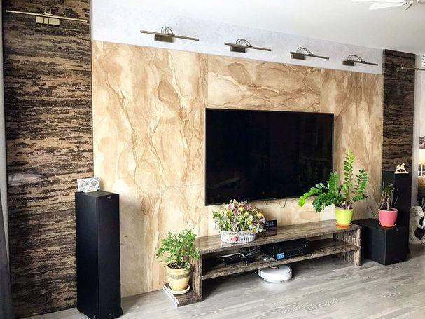 Стеновая панель мрамор фото 451