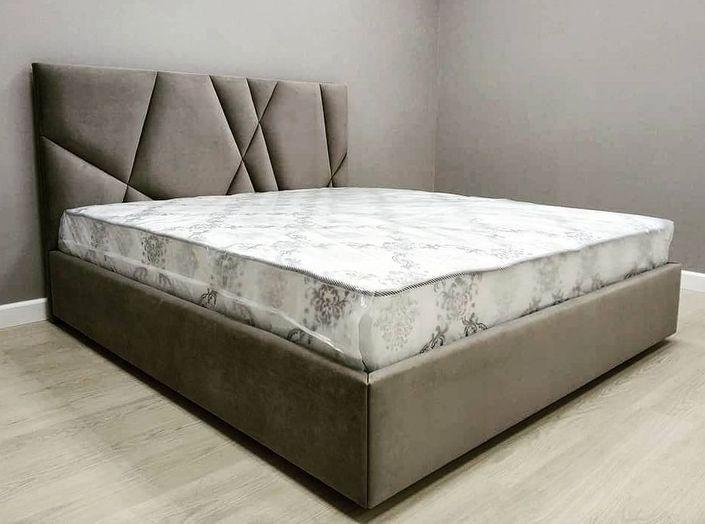 Кровать с мягким изголовьем двуспальная фото 544