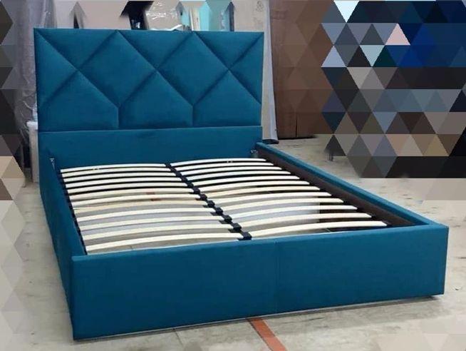 Кровать с мягким изголовьем двуспальная фото 548