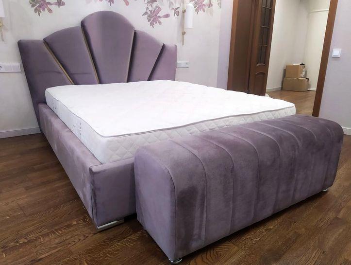 Кровать с мягким изголовьем двуспальная фото 549