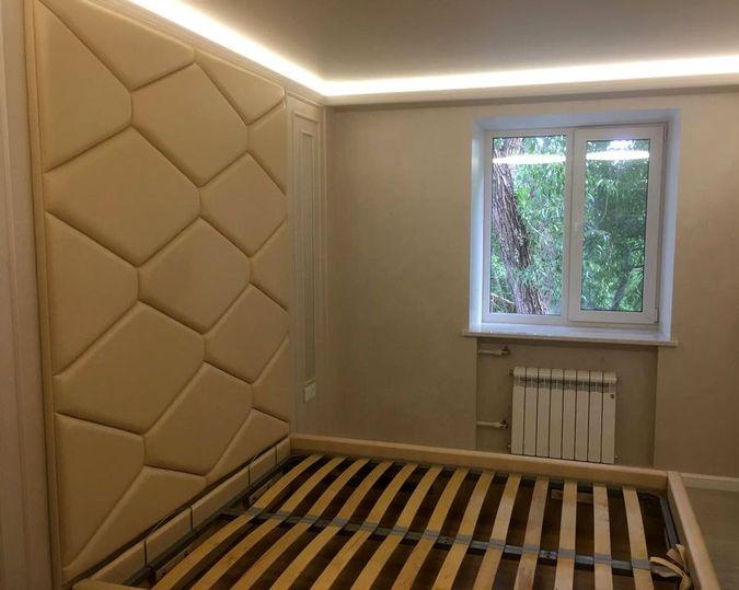 Мягкие панели для спальни фото 865